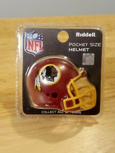 Washington Redskins Riddell Pocket Pro Football Helmet - New in Package
