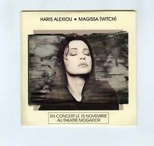 CD SINGLE PROMO HARIS ALEXIOU MAGISSA (SWITCH)