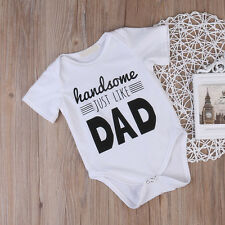 Cotton Newborn Kids Baby Girl Boy Bodysuit Romper Jumpsuit Clothes Outfits 0-18M
