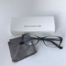 NEW 100% Authentic Ann Taylor AT308 C01 Eyeglass Frames Black Fade Translucent