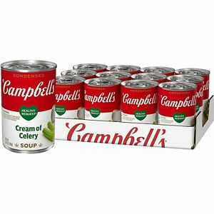 Campbell's Condensed Cream of Celery Soup, 10.5 oz [12-Cans]