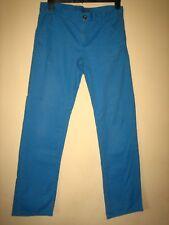BT44) MENS BLUE LIVERGY STRAIGHT LEG JEANS ZIP FLY WAIST 32 LEG 32