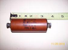 Chicago Condenser capacitor inline  .03 mfd 2500 v Ham Radio amplifier sprague