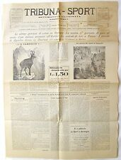 1899 TRIBUNA-SPORT Nuovo Ippodromo di Como, Il Camoscio, Lepre, Agesilao Greco