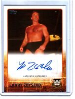 WWE Larry Zbyszko 2015 Topps Authentic Autograph Card