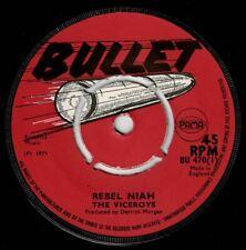 "VICEROYS-rebel niah    bullet 7""    (hear)    reggae"