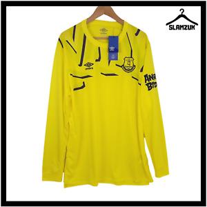 Everton Football Goalkeeper Shirt Umbro 2XL XXL LS GK Soccer Jersey 2019 2020