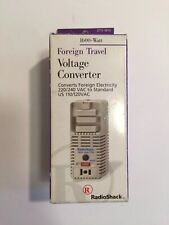 Radio Shack 1600-Watt Foreign Travel Voltage Converter Adapter 273-1413