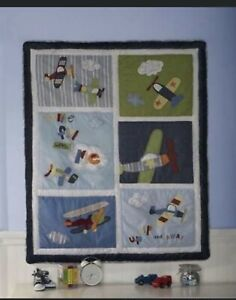 Kidsline Come Fly With Me Cot Quilt Brand New