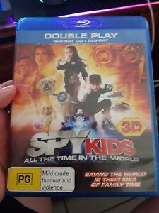 Spy Kids 3D (EX RENTAL) -  Blu-Ray -  DVD  - FREE POST