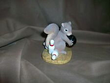 Fitz & Floyd Charming Tails Figurine Spare Me Limited Edition 2000 Bowling