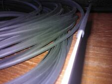 rubber edge strip  U section suitable for 1.5 to 2mm thickness x 7mm hight
