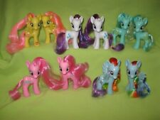 G4 MY LITTLE PONY Friendship is Magic 10 Brushable FIGURE LOT Left &Right Facing