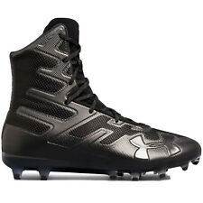 UNDER ARMOUR HIGHLIGHT MC High Football Cleats BLACK & MORE - PICK SIZE & COLOR