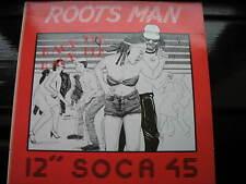 """ROOTSMAN-RACK ME RACK ME. ORIG 1985 REGGAE/SKA 12"""" SINGLE. SOCA. VG CON"""