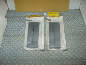 HO SCALE A- LINE LOT OF 4, 45 UNDECORATED RIBBED CONTAINERS KITS! ONLY $20.00!