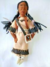 Tree Ornament Native American Sacawegea Hand Sewn Felt Global Silk Road Bazaar