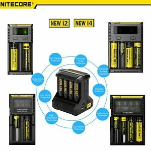 Nitecore Chargers I4 D2 I8 I2 D4 18650 & Other Battery Charger