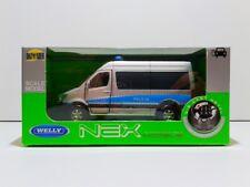 "Mercedes Benz Sprinter Polish ""Policja"" appr.1/43 NEW Mint OVP by NEX Welly"