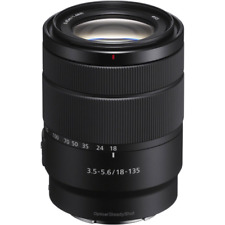 Sony And 18-135mm F3.5-5.6 OSS Zoom Lens: White Box