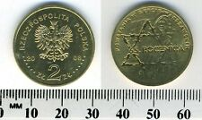 Poland 2008 - 2 Zlote Coin - 65th Anniversary of Warsaw Ghetto Uprising