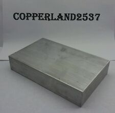 125 X4 X 4 Long New 6061 Solid Aluminum Stock Plate Flat Bar Cnc Block 1 14