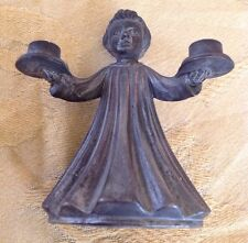 Vintage Set of 2 Small Child Candle Holder #6