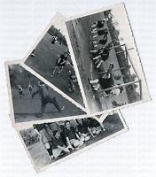 Damen-Hockey, Serie von 4, Original-Photos, um 1940