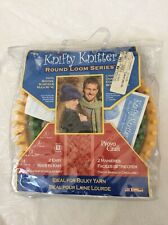 NEW Knifty Knitter 4 Round Loom Set Sealed By Provo Craft