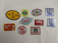Retro Mining Sticker - 10 Stickers as pictured (Lot 29)