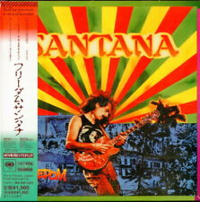Santana-Freedom-Japan Mini LP CD Ltd / Édition D99