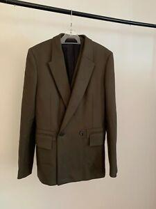 Ermenegildo Zegna Couture XXX Merino wool three-piece suit, new, size 48