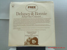 "DELANEY & BONNIE / KENNY LOGGINS WITH JIM MESSINA-(7"" 33RPM W/PIC SLEEVE)-PROMO"