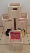 Vinyl record crate, milk crate, Ply Crate,Vinyl Records storage box to suit 45s