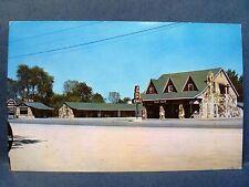 Postcard KY Hopkinsville Wadlington Rock Motel