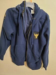 Under Armour Men's MED Freedom Project Rock BLUE Veterans Day Zip Hoodie 1346104