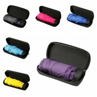 Portable Folding Capsule Umbrella Mini Light Small Pocket Umbrellas Anti-UV Rain