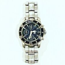 Fossil Men's Watch ⌚️ Stainless Steel W/Black Dial Pre-Owned/Needs Battery