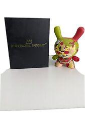 "Kidrobot Basquiat 8"" Masterpiece Wine of Babylon Dunny Vinyl Figure NIB"