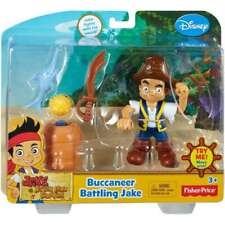 Disney Fisher Price Jack and the Neverland Pirates Buccaneer Battling Jake N4