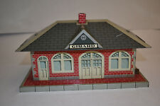 Marx Girard Whistling Train Station Building O-Gauge, Excellent