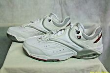 *AC-SH WILSON WOMEN'S NEW WHITE LEATHER PRO STAFF 1000 ATHLETIC SHOES - SIZE 11M