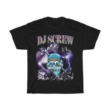 DJ Screw Vintage 90's Inspired Rap T-Shirt Regular Black Size S-3XL