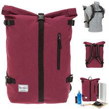 Rucksack NEW REBELS COURIER Vintage A4 Freizeitrucksack Reiserucksack Bag ROT