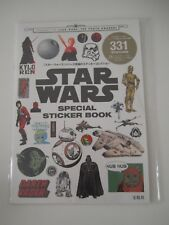 Star Wars:The Force Awakens-Special Sticker Book-Japan-Japanese