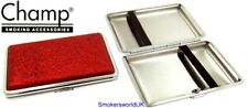 Cigarette Case -- Champ Small Red Glitter 14 King Size -- NEW chks26