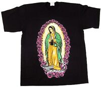 6df361dcda6 Our Lady Of Guadalupe T-shirt Virgin Mary Blessed Prayer Tee Adult Men New