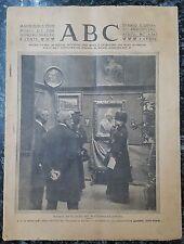 DIARIO ABC Nº 5.365 19 DE MARZO DE 1920. EN PORTADA LA REINA MARIA CRISTINA.