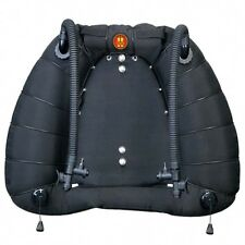 OMS Tesseract 60 lb Lift Dual Bladder Scuba Diving Tech BCD Buoyancy Compensator
