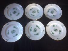 Meissen 6x Teller Kuchenteller  grüner drache plate Drache dragon grün green